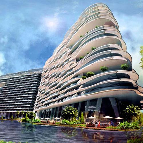 北海星都湾酒店、给水案例